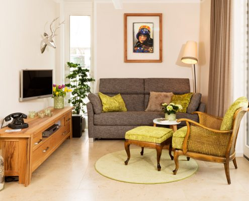 Wohnbereich Ferienwohnung direkt von Privat in Prien am chiemsee