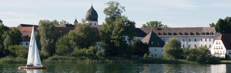Fraueninsel Urlaub am Chiemsee Ferienwohnung buchen von Privat