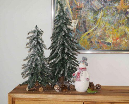 Winter Ferienwohnung Prien am Chiemsee